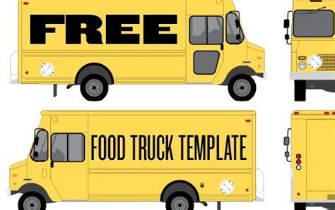 Food Truck Wrap Template By Studiofluid Fun Idea For Adv Illustrator Class To Design Food Food Truck Wrap Design Template