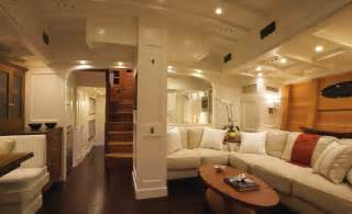 Onboard bequia interiors are warm and welcoming featuring an effective