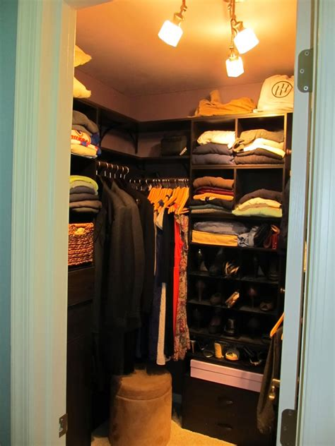 Half Closet by Half Finished House Half Finished House Tour Master