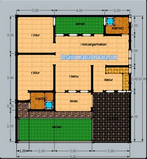 design interior rumah type 50 contoh denah rumah untuk luas tanah 120 m2 desain rumah