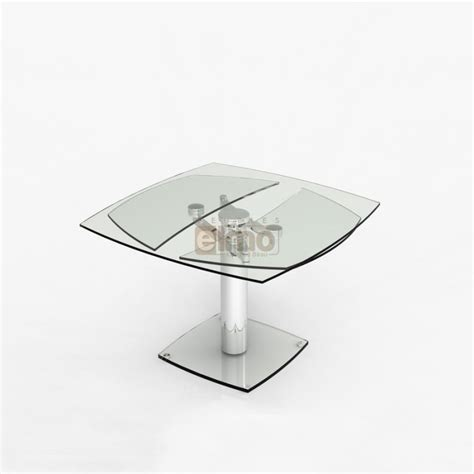 Table Salle A Manger Contemporaine by Table Salle 224 Manger Contemporaine Extensible Verre Et