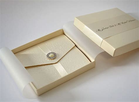 Wedding Invitation Box Kits