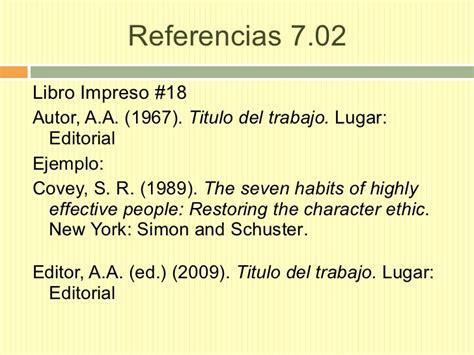 libro the 7 habits of apa style 6ta en espanol