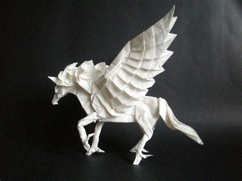 Origami Pegasus - 1168 best origami images on paper crafts