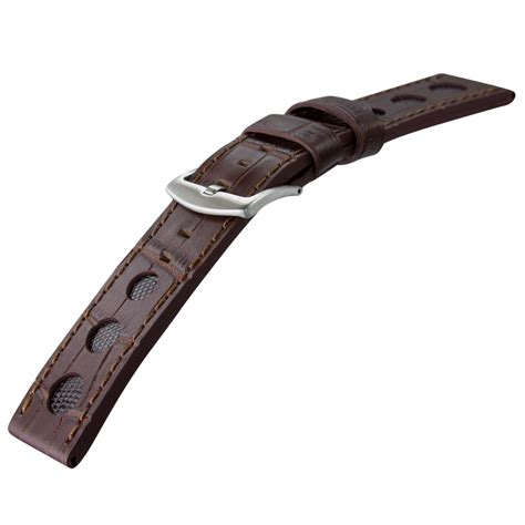u boat watch parts genuine leather rally watch strap for u boat watches with