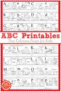 learn to write the abc s with free kids printables