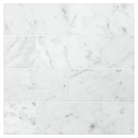 Bathroom Ideas Subway Tile by Carrara Honed 3 Quot X 6 Quot Natural Stone Marble Subway Tile