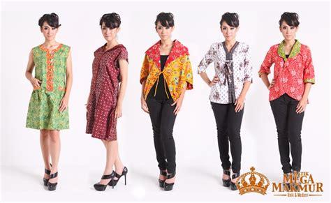 Kebaya Bordir Mega Mendung Lengan Panjang Ll Murah batik mega makmur toko busana batik terlengkap