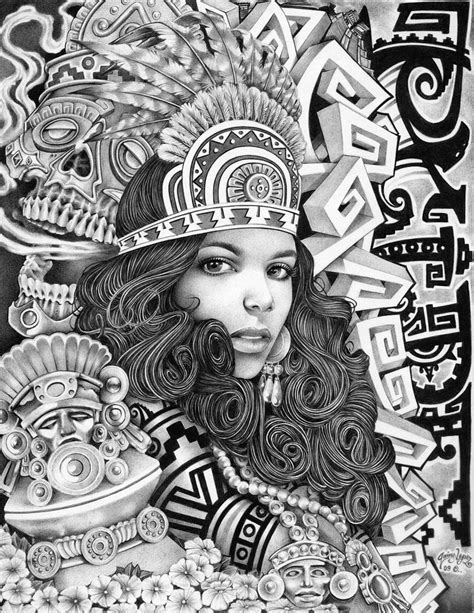 Girly Aztec aztec mouse indian headdress princess