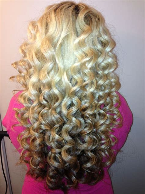 easy curling wand for permed hair 1000 ideas about spiral perms on pinterest loose spiral
