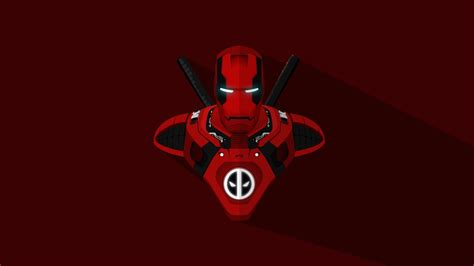 iron man deadpool crossover  wallpapers hd wallpapers