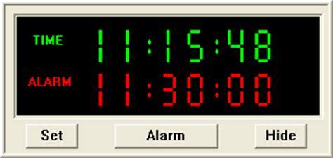 freeware  windows xp desktop wall clock