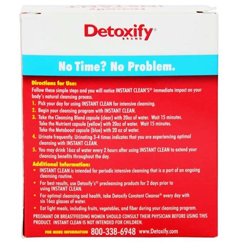 Where To Buy Instant Clean Detox Australia by Buy Detoxify Instant Clean Herbal Cleanse With Metaboost