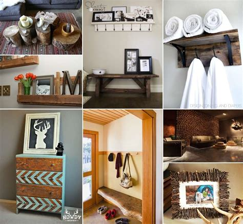 40 terrific rustic home decor projects you can try yourself