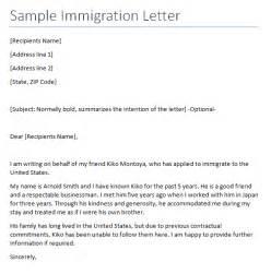 immigration reference letter archives sle letter