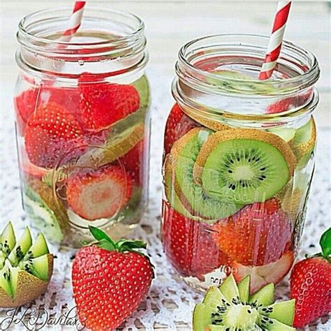 Pineapple And Strawberry Detox Water by 12 Detox Water Recipes That Are Delicious And Nutritious