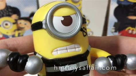 Happy Meal Despicable Me 3 Minion Pumping Iron Mcdonald S Happy Meal Toys Despicable Me 3 Pumping Iron