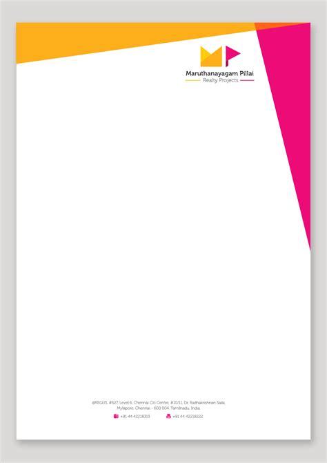 business name letterhead letterhead design design letterhead design