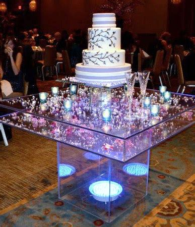 Wedding Wishes Display by Our Wedding Cake And Amazing Acrylic Stand Wonderful