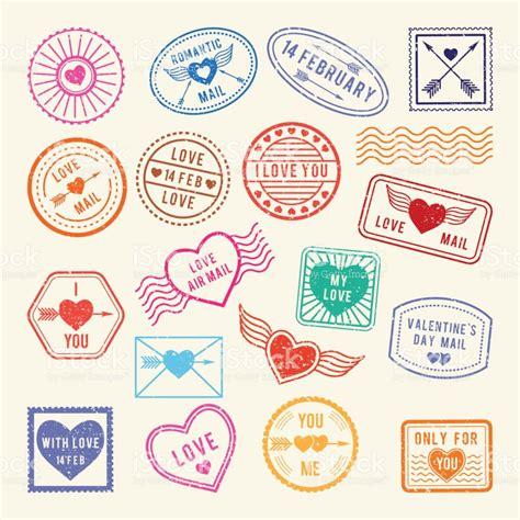 Imagenes Vintage Sellos | vintage sellos postales rom 225 nticas elementos de amor