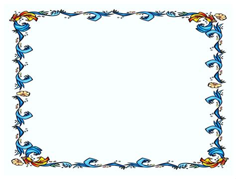 Border Template For Word Mughals Border Template