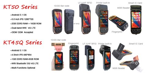 Card Reader 4 Slot Putar Lte 417 1222 touchscreen handheld android barcode scanners qr pdf417 with rfid reader