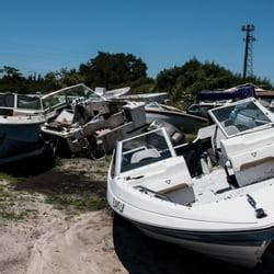 boat salvage yard fl don s marine surplus salvage boat dealers 5601 126th