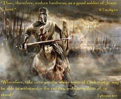 soldiers of christ salvation faith blog