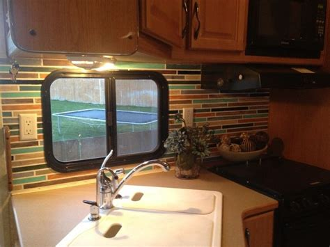 rv remodel how to paint wallpaper and make a faux
