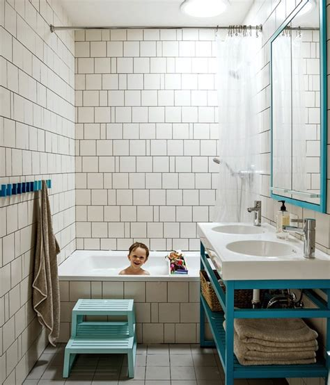 dwell bathroom ideas turquoise vanity contemporary bathroom dwell