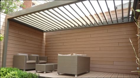 Bcf Awning by Sun Protection Roof System Based On Rotating Blades