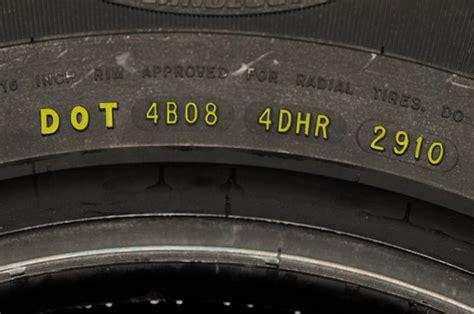 dot date code reading a tire sidewall tire industry association