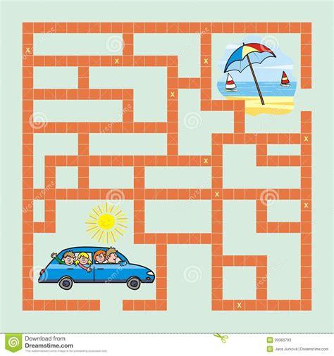 zeil quiz labyrint spel ontspanning raadsel binnen quiz vector