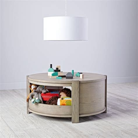 Land Of Nod Table by Rotunda Play Table Grey Stain The Land Of Nod