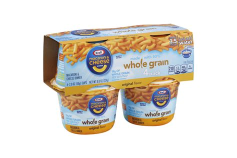 whole grain kraft mac and cheese kraft macaroni cheese dinner whole grain original flavor