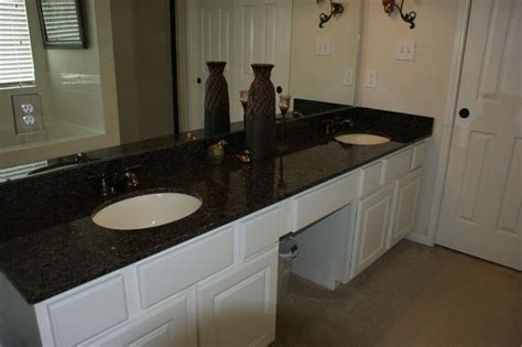 bathroom granite countertops with white cabinets white cabinets with black impala granite bathrooms black