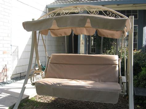 replacement patio swing cushions and canopy costco patio swing most popular swing every sold