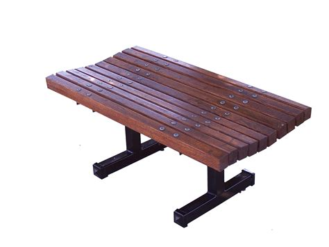 benches wooden contoured backless wooden bench wood park benches