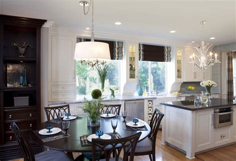 kitchen eating area ideas glamorous modern kitchen before and after robeson design
