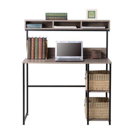 laptop desk walmart homestar laptop desk with hutch walmart ca