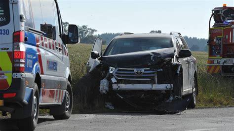 bence car photos multi car crash leaves three in hospital the courier
