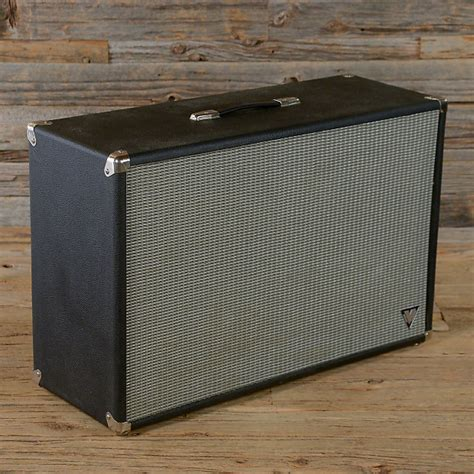 Fender 2x12 Cabinet by Fender V Series Bandmaster 2x12 Speaker Cabinet Used Reverb
