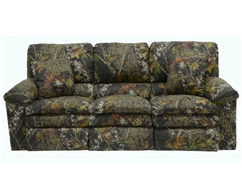 Camo Reclining Sofa by Trapper Reclining Sofa In Mossy Oak Or Realtree Camouflage