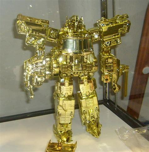 Transformers Gold grand convoy gold transformers toys tfw2005