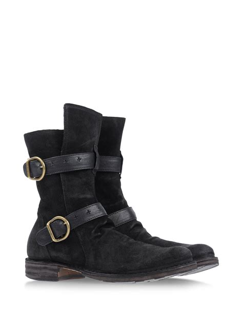 fiorentini baker ankle boots in black lyst