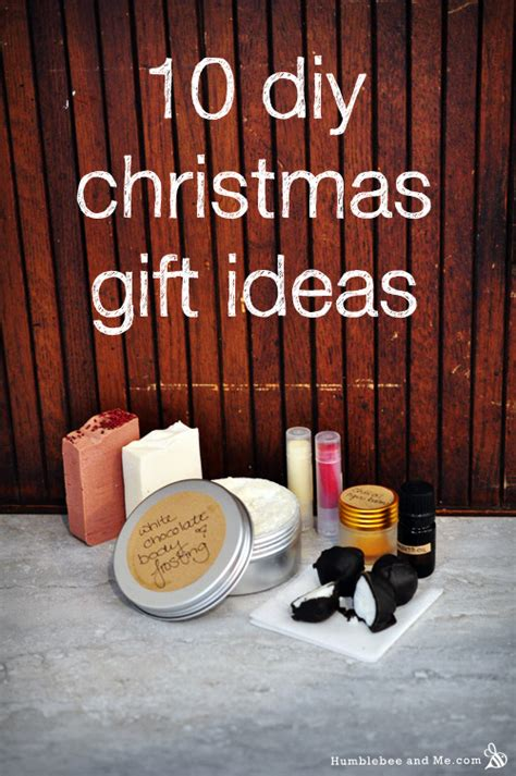 diy christmas gift ideas humblebee me