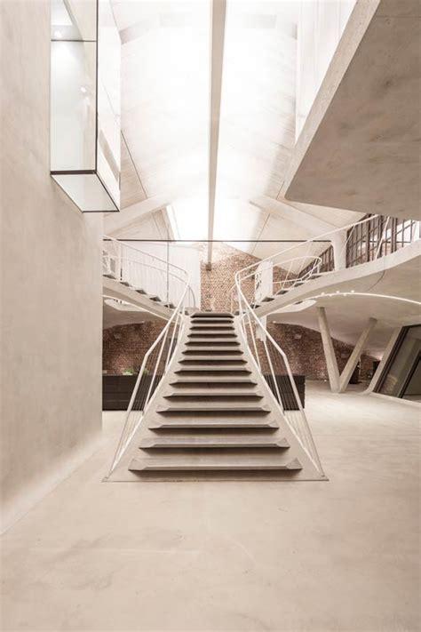 loft architektur treppe als wohn raumskulptur architektur