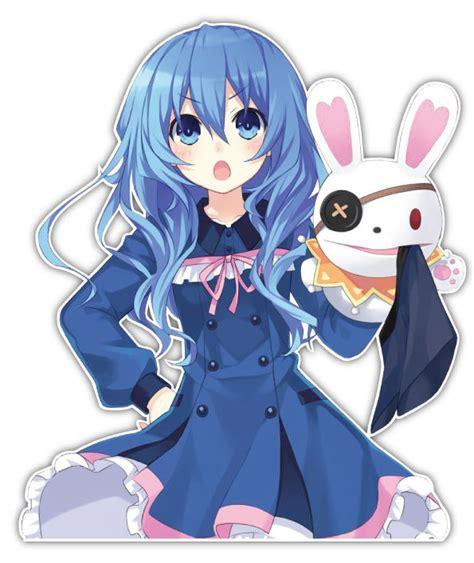 Live Anime Sticker Ll003 date a live yoshino yoshinon anime car window decal sticker 010 ebay