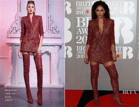 Catwalk To Carpet Scherzinger by Brit Awards Carpet Fashion Awards