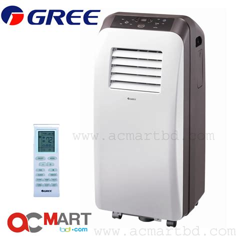 Ac Portable gree portable 1 ton air conditioner gp 12lf price in bangladesh ac mart bd